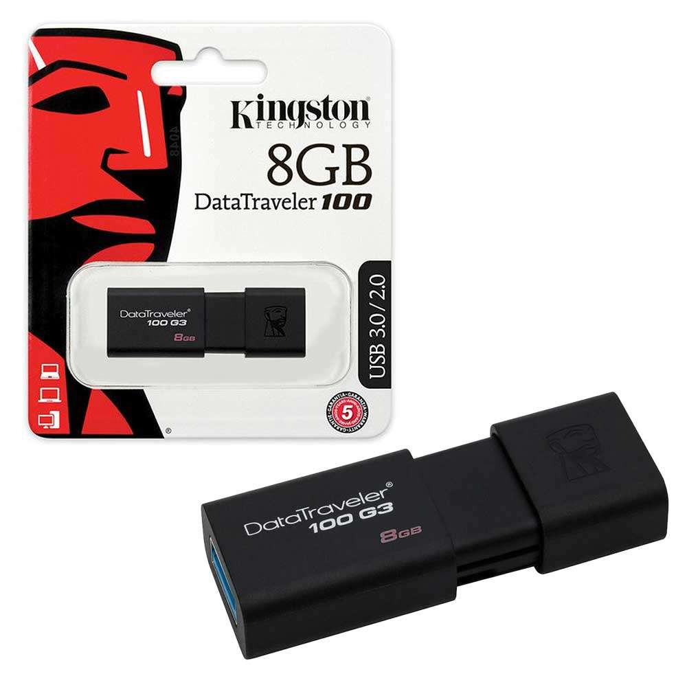Δώρο ένα Kingston USB Flash 8GB Black